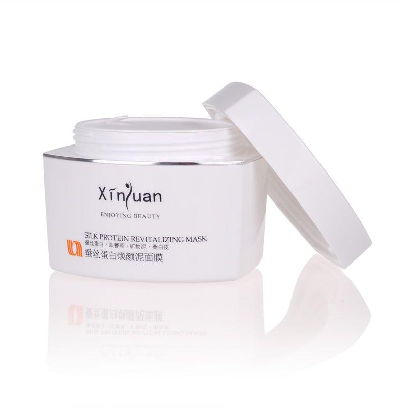 XY-026 蚕丝蛋白焕颜泥面膜