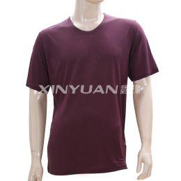 J5412 男亚博体育app手机版粘胶圆领衫