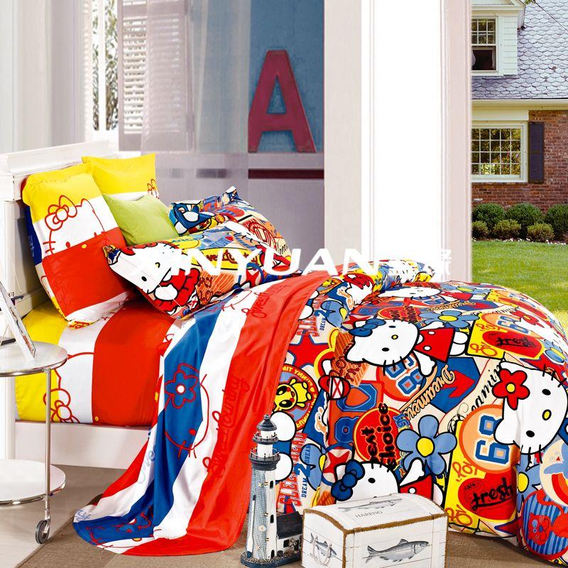 DMA4415    儿童全棉活性印花四件套