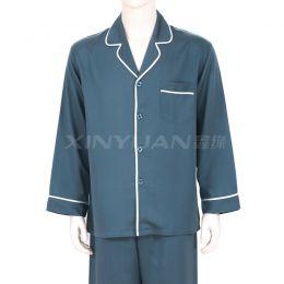 HD9059 精品天丝男长袖睡衣套