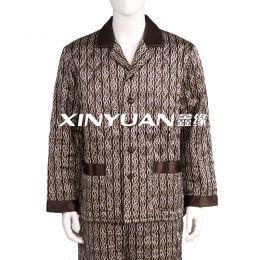 XYS7480 男亚博体育app手机版印花棉睡衣套