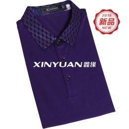 GT3975 高档男式丝棉T恤