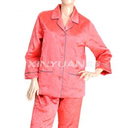 HD8041 高档女式亚博体育app手机版棉睡衣套
