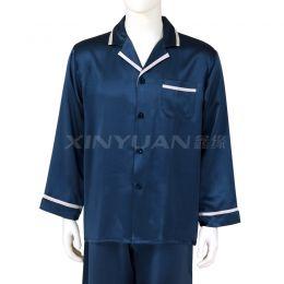 HD9037 男亚博体育app手机版长袖睡衣套