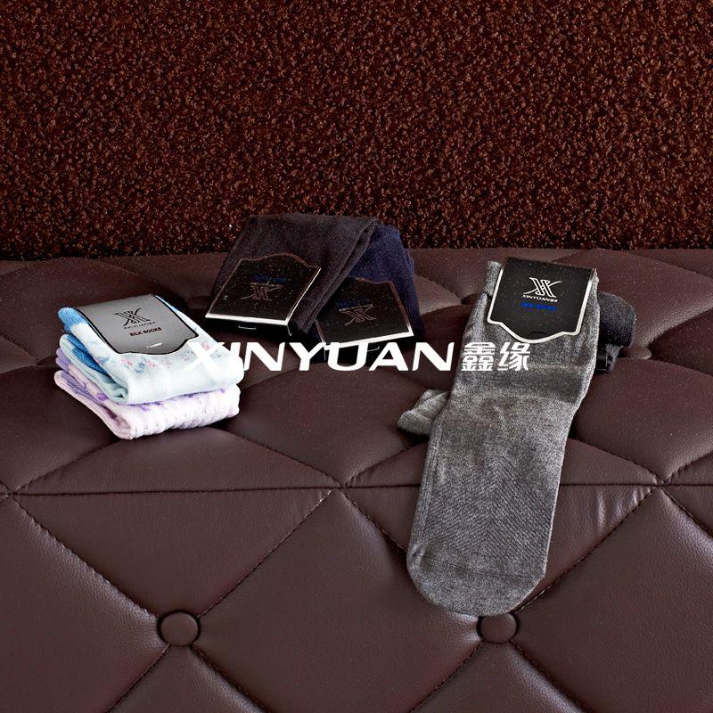 桑蚕丝交织袜