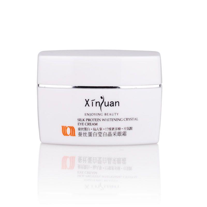 XY-023 蚕丝蛋白莹白晶采眼霜