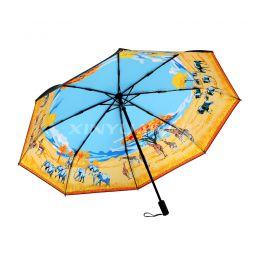 GDS0001 精品丝巾艺术伞套装