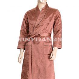 HD8040 高档男式亚博体育app手机版棉睡袍