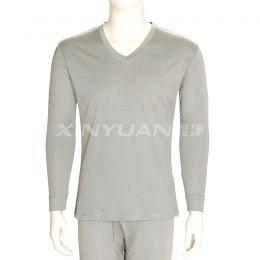 E2582 男丝棉双平内衣套