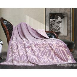 BSA2023 提花蚕丝绒毯