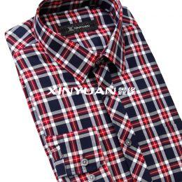 精品亚博体育app手机版棉男长袖衬衫(丝绵保暖夹层)SMC6001-SMC6030