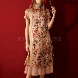 FD9083 亚博体育app手机版连衣裙