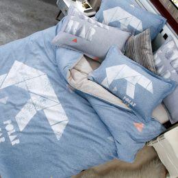 DMD4418 全棉印花磨毛四件套