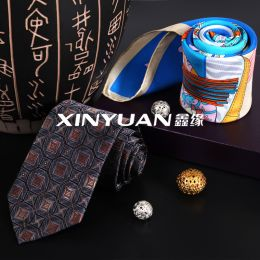 HE4545  精品亚博体育app手机版领带丝巾套盒