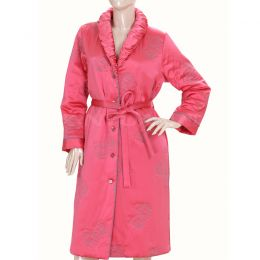 HD9063 高档亚博体育app手机版女式棉睡袍