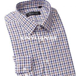 精品亚博体育app手机版棉男长袖衬衫(加超柔里衬)SMC0101-SMC0106