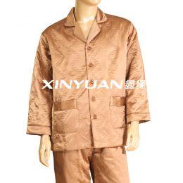 XYS2251 高档男式亚博体育app手机版棉睡衣套