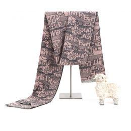 HB4615A 丝羊绒拉毛围巾