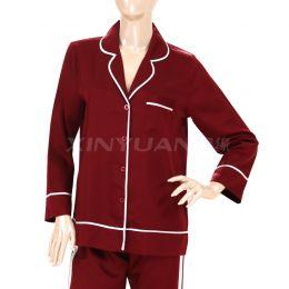 HD9061 精品天丝女长袖睡衣套
