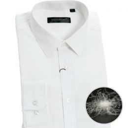 EC1201 精品男长袖鹅绒衬衫