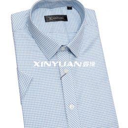 高档亚博体育app手机版羊绒男短袖衬衫 SYD1006-SYD1012
