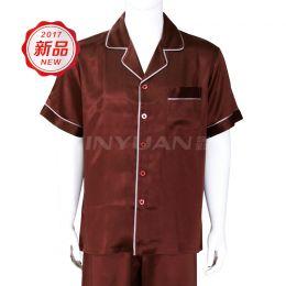 HD7039 精品男短袖睡衣套