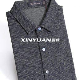 XYS7705  高档男丝羊毛衬衫