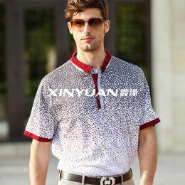 G3969男亚博体育app手机版针织衬衫
