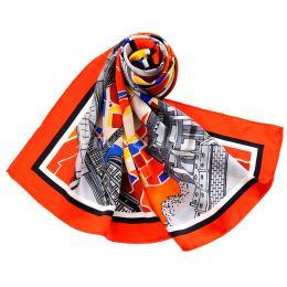 GD0013 亚博体育app手机版素绉缎方巾