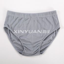 KS5732 男丝棉抽条内裤