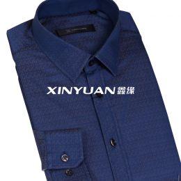 QMC0801-QMC0808 高档男士长袖衬衫(加丝绵夹层)